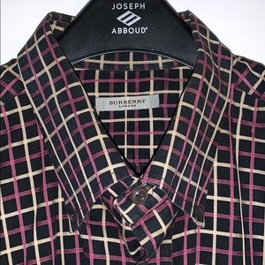 Burberry dress shirt size xl